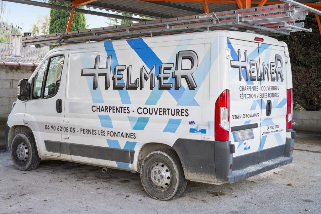 HELMER : entreprise de couverture charpente à Avignon